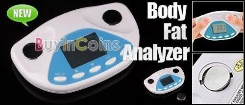 medidor de grasa corporal digital. control de peso, salud.