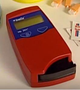 medidor de hemoglobina hemoglobinometro
