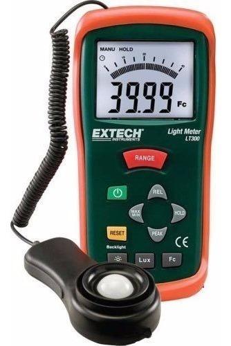 medidor de luz extech modelo lt300