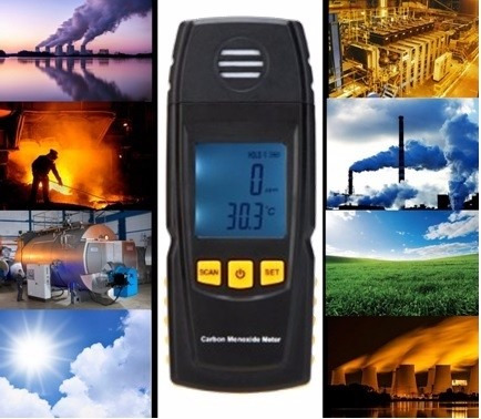 medidor de monóxido de carbono gm-8805