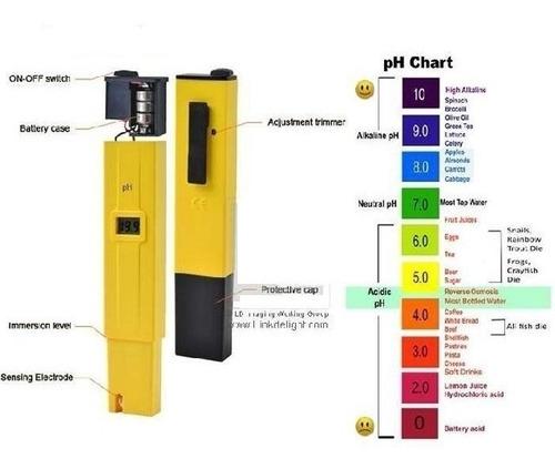 medidor de ph calibrado peachimetro digital ph tester