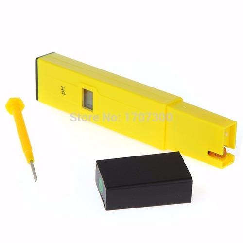 medidor de  ph digital de bolsillo ph-108 0,0 a 14,0 ph