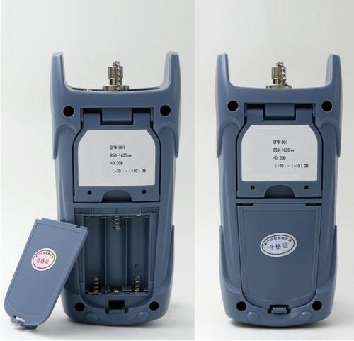 medidor de potencia de fibra óptica -70 to +10dbm volkstec
