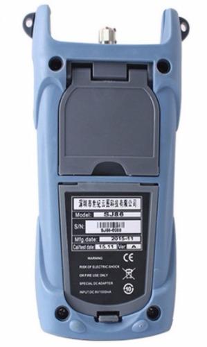 medidor de potencia de fibra optica cableado localiza fallas