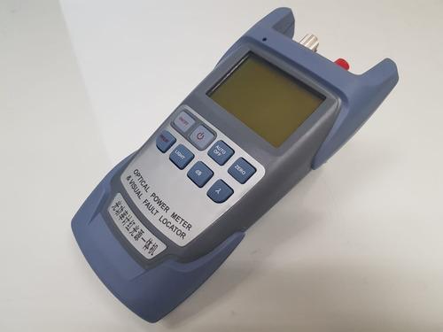 medidor de potencia óptica y localizador de fallas 10 mw