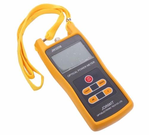medidor de potencia  power meter fibra óptica
