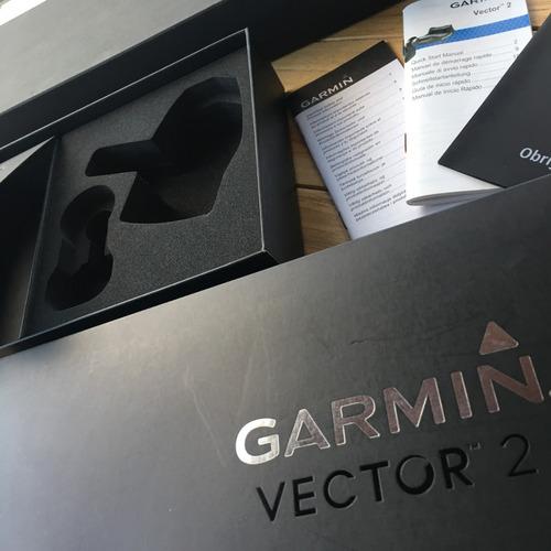 medidor de potência vector 2 garmin - caixa vazia - ref.179