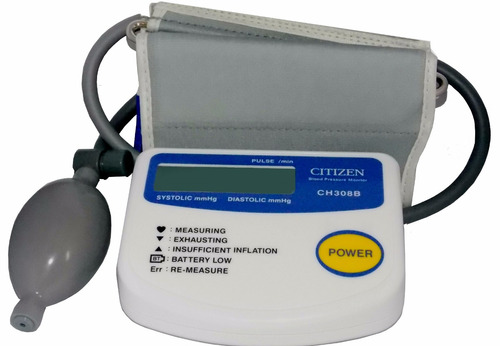 medidor de presión arterial, citizen, ch-308 brazo. msi