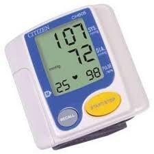 medidor de presión arterial, citizen, ch-605 muñeca.
