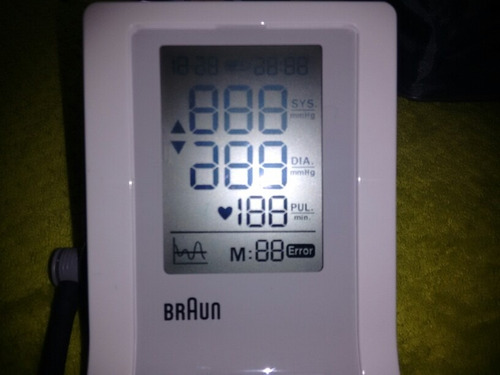 medidor de presión arterial de brazo braun bp4900ph-we