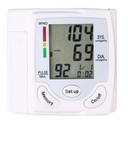 medidor de presión arterial portatil de muñeca esfingomanome