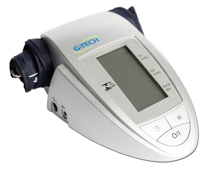 7e0e4b90c Medidor De Pressão Arterial Digital De Braço Bp3aa1 G-tech - R  179 ...