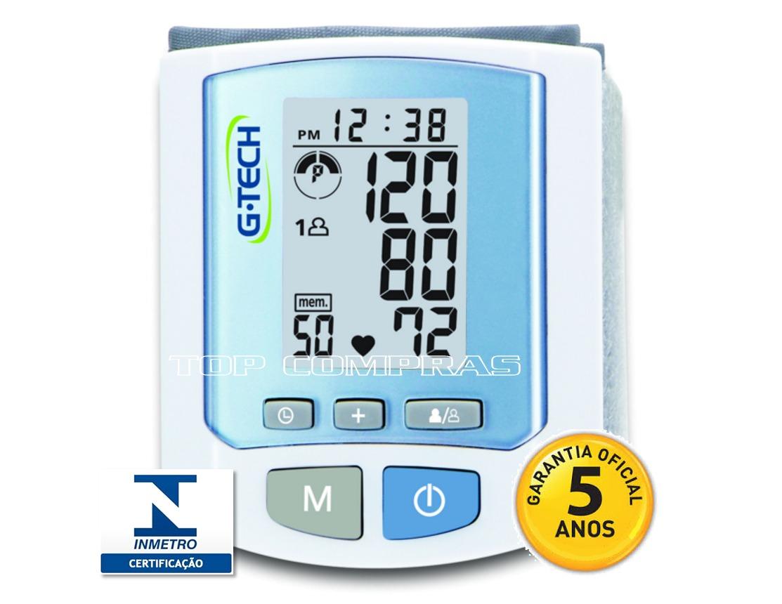7ea47e60d medidor de pressão arterial digital de pulso rw450 g-tech. Carregando zoom.