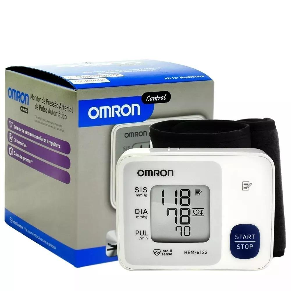 cadeb9f54 medidor de pressão arterial digital pulso omron control 6124. Carregando  zoom.