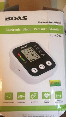 medidor de pressão com braçadeira fala funções em português