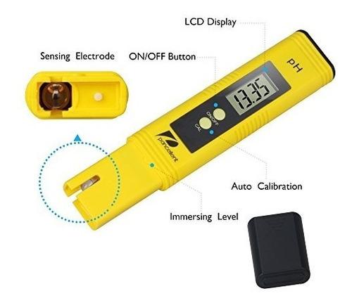 medidor de prueba de calidad del agua pancellent tds ph ec t
