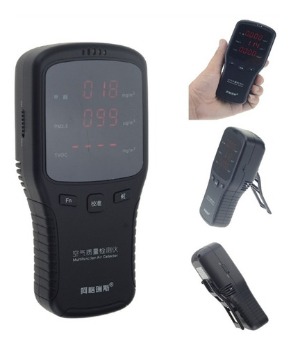 medidor de qualidade do ar identificador de vazamentos gases