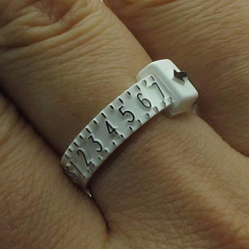 medidor de talla de anillo envío gratis