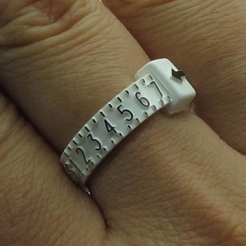 medidor de talla de anillo exacto envio gratis