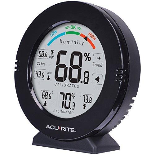 medidor de temperatura y humedad de precision profesional ac
