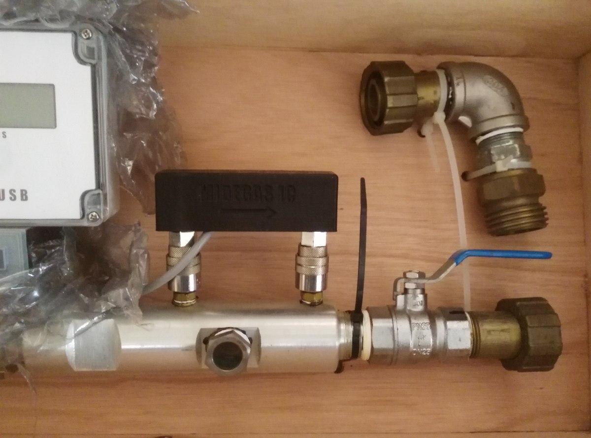Medidor de turbina ic usb para gas lp en acero inoxidable for Instalacion de gas lp