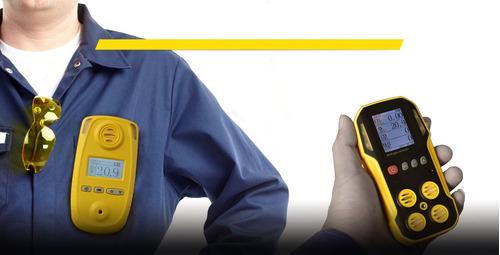 medidor detector portatil de gases  o2   co   h2s  ch4