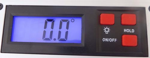 medidor digital de angulos inclinaciones con nivelador