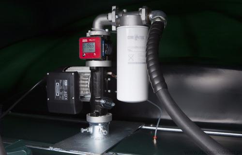 medidor digital de fluxo vazão água/diesel/arla 32/químicos.