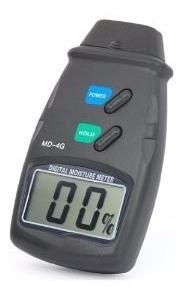 medidor digital  de humedad en materiales, pantalla lcd