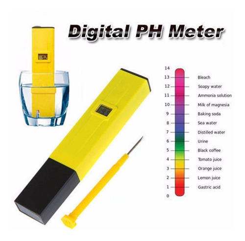 medidor digital de ph (para liquidos)