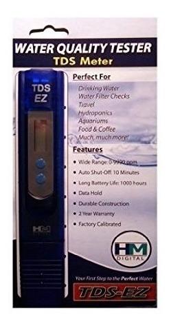 medidor digital tds ez marca hm,verifica calidad agua ,etc.