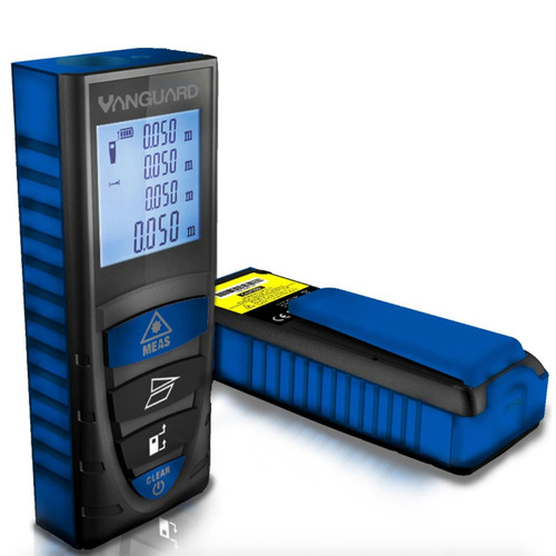 medidor distancia laser vanguard 60mt distancia-area-volumen