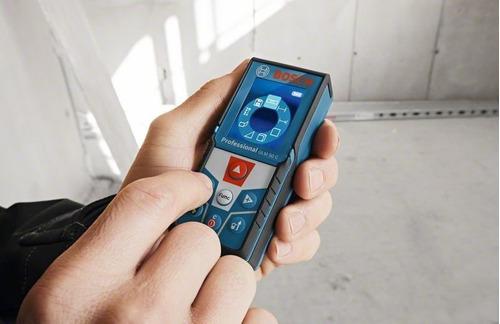 medidor distancia telemetro laser bosch glm 50 con bluetooth