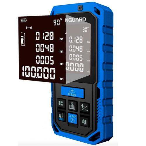 medidor distancia-volumen laser vanguard funda y cable usb