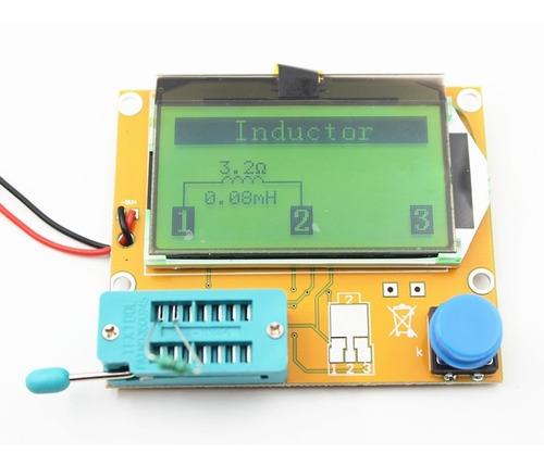 medidor esr ohmimetro capacimetro indutimetro.