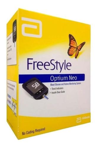 medidor glucosa y cetonas freestyle optium neo