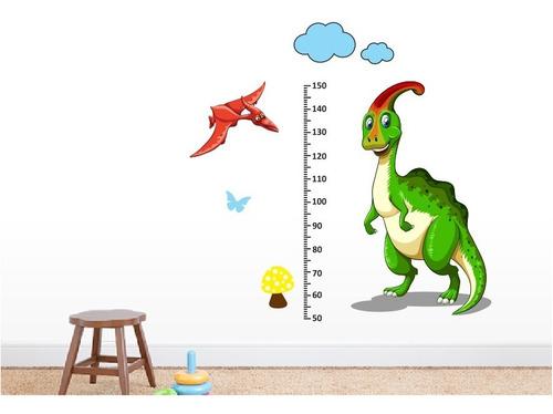 medidor infantil estatura dinosaurios - regla 1m