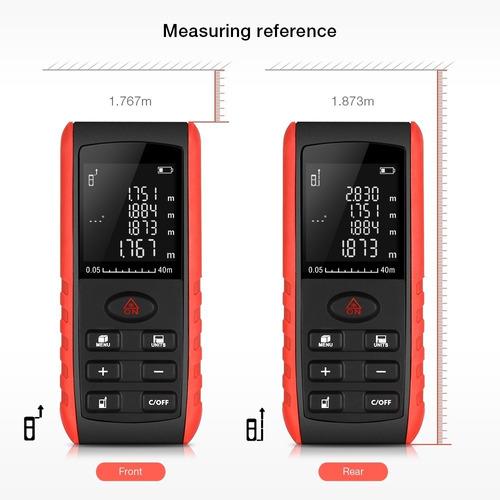 medidor láser de distancia digital 80 metros telemetro nuevo