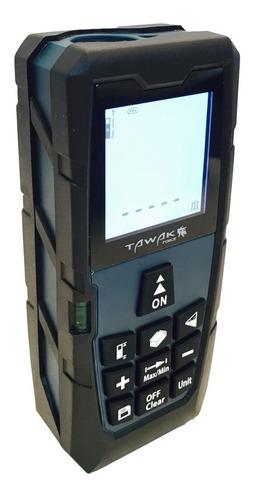 medidor laser de distancia tawak force tkms40 40 mts funda