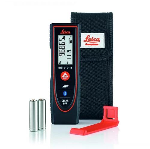 medidor laser distanciometro leica modelo d110
