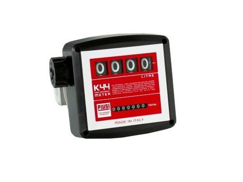 medidor mecanico 4 digitos para oleo diesel