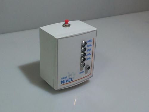 medidor medenível de caixa d´água  + fonte 12v + cabo 20mts