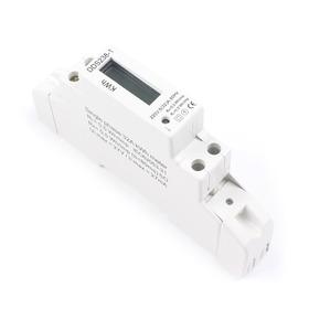 Medidor Monofásico Digital Din Eléctrico Dds238-1 Lcd Kw/h