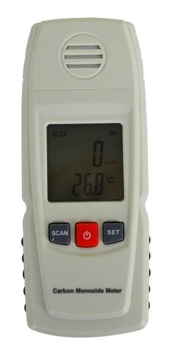 medidor monóxido de carbono co e temperatura c/ alarme