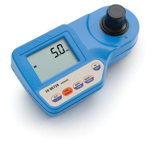 medidor nitrato agua fotómetro portátil hanna hi96728