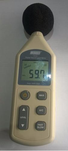 medidor nivel de ruido sonometro profesional 130db