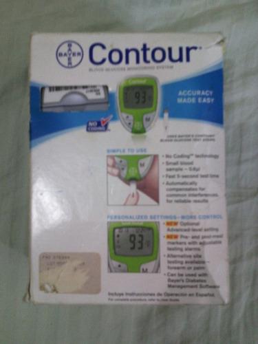 medidor o contador de glucosa bayer