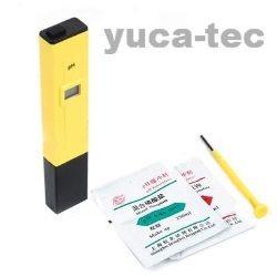 medidor ph digital phmetro lcd con estuche rigido y pilas