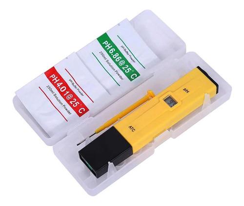 medidor ph metro digital peachimetro laboratorio liquidos