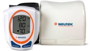 medidor presión arterial, neutek bp-201m de muñeca